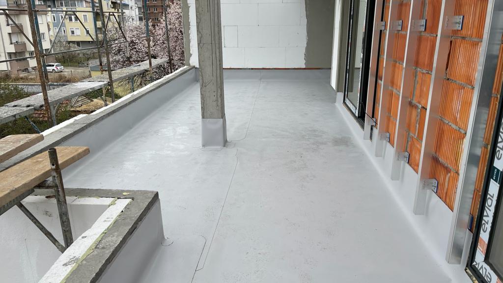 Hidroizolacija sanitarnih čvorova i terasa